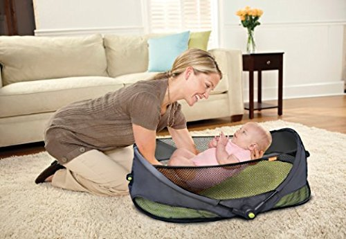 BRICA Fold N Go Travel Bassinet by Brica