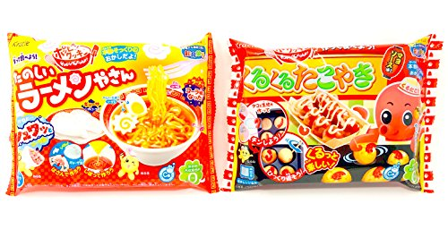 - Kracie Popin Cookin DIY Happy Kitchen Japanese Making Candy Kit Select Value Set (2 pcs set Tako Ramen)
