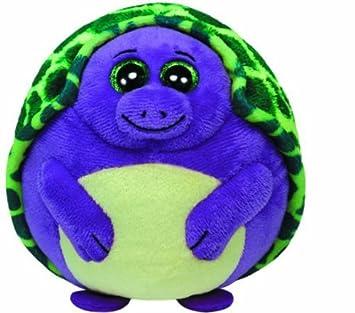 Amazon.com  Ty Beanie Ballz Tiki Purple Turtle Regular Plush Toy  Toys    Games d6efbf5a14ed