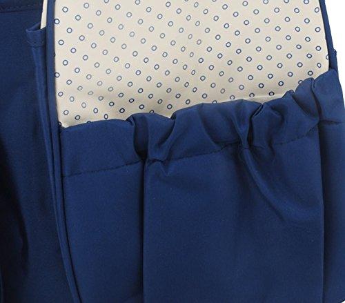 GFM Everyday cambiador pañales bolsa Navy Blue (GHNL30) Talla:largo Navy Blue (GHNL30)
