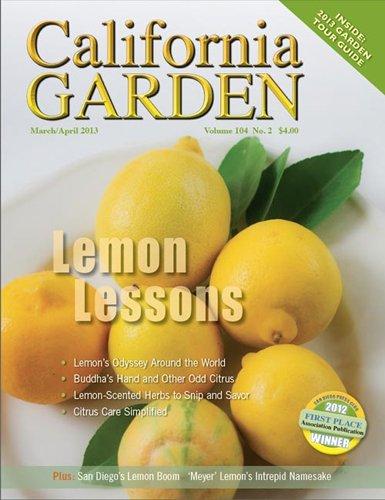 Subscribe to California Garden