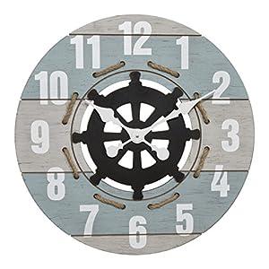 51ekMimFKlL._SS300_ Nautical Themed Clocks