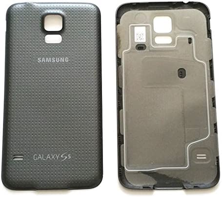 New Original Battery Back Cover Door for Samsung Galaxy S5 i9600 G900P G900T with water Proof Seal and NFC BLACK