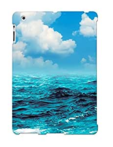 829c4383780 Anti-scratch Case Cover Yellowleaf Protective Manipulationdigital Art Artistic Nature Ocean Sea Waves Swell Water Sky Clouds Sailing Sports Boat Ship Sailboat Case For Ipad 2/3/4