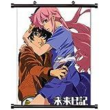 "Mirai Nikki Anime Fabric Wall Scroll Poster (32"" X 41"") Inches"