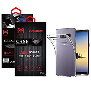 Margoun for Samsung Galaxy Note 8 Case Soft Clear TPU Back Cover Protection Case - Transparent Clear