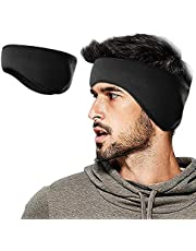 Naveeda's Polar Fleece Ear Warmer Headband for Men & Women. Ultra Warm Ear Muffs. Performance Stretch Ear Band Perfect for Active Sports and Daily Wear. Ideal for Running, Cycling, Yoga, Skiing, Snowboarding, Climbing, Walking and more. Comfortable, Elastic Headband Provides Effective Protection from the Wind and Cold Temperatures.