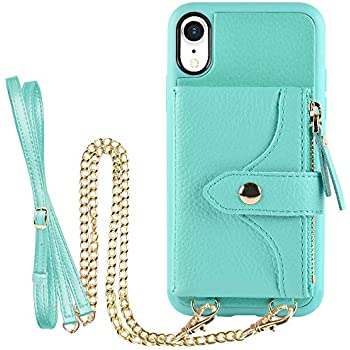 Amazon.com: iPhone XR Case, ZVE iPhone XR Wallet Case with
