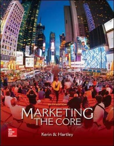 By Roger Kerin - Marketing: The Core (6th Edition) (2015-01-31) [Paperback]