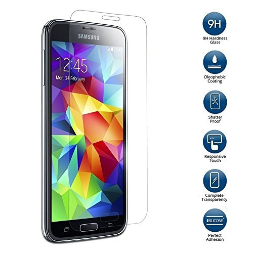 Samsung Galaxy S5 for STRAIGHT TALK with ACCESSORIES BUNDLE - Use Verizons 4G LTE Network (BLACK)