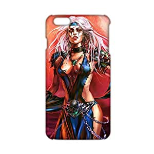 Sexy Magic Gothic Witch 3D Phone Case for iPhone6 plus