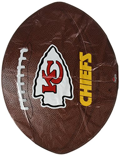 Anagram International Kansas City Chiefs Flat Party Balloons, 18