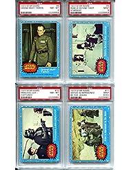 1977 Star Wars Topps Trading Card #8 Grand Moff Tarkin PSA 8 NMT-MT Peter Cushing