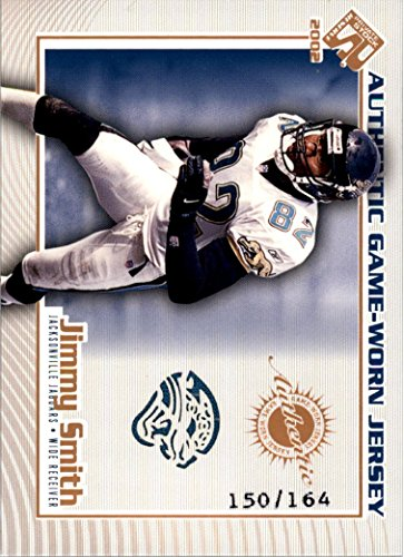 2002 Private Stock Game Worn Jerseys Logos #62 Jimmy Smith Jersey /164 - NM-MT