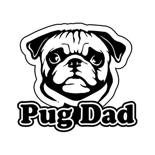 pug window decal - 7