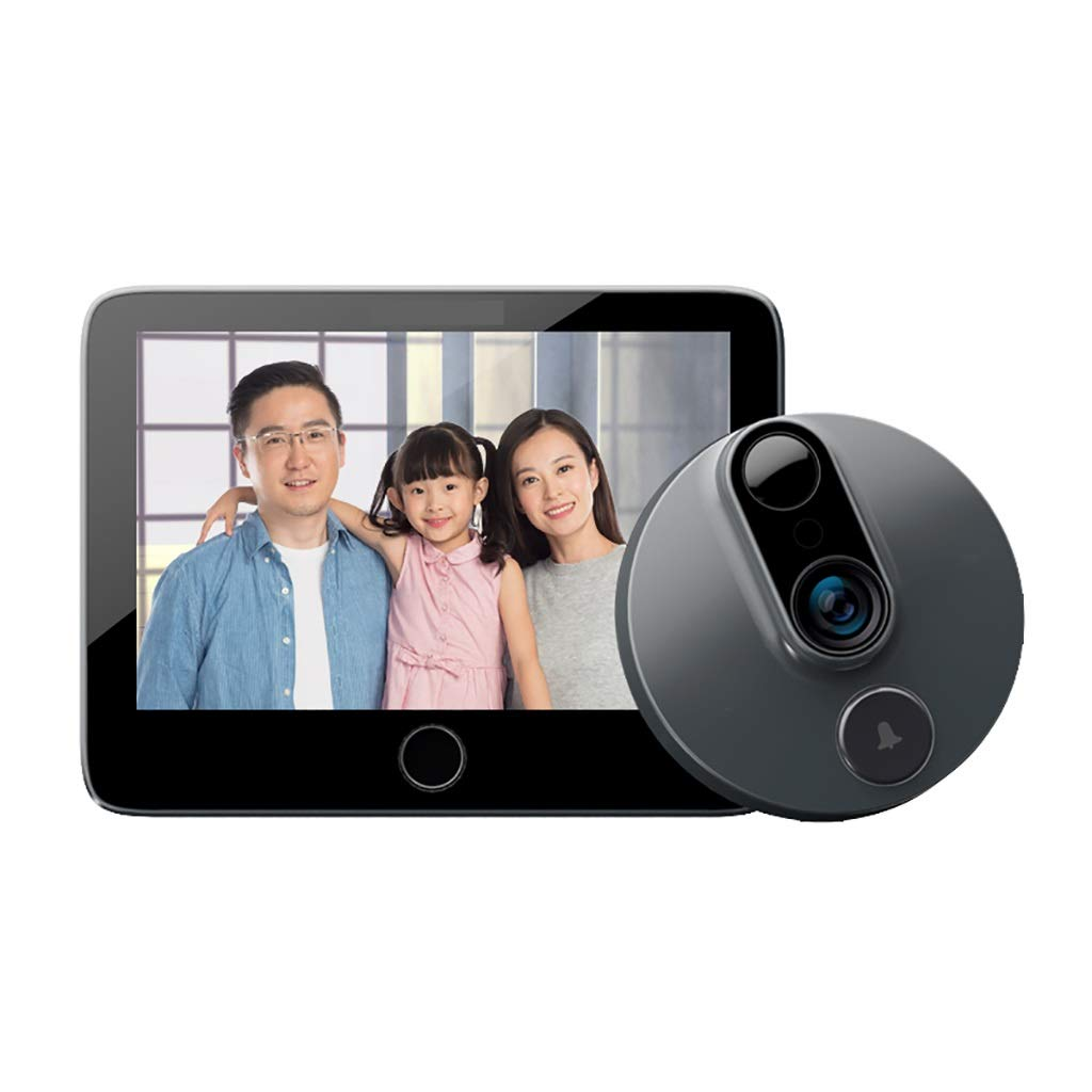 Daqin Smart Cat Eye Remote Housekeeping Real-time Intercom Mobile Phone Monitoring Doorbell