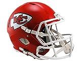 Riddell NFL Kansas City Chiefs Full Size Replica Speed Helmet, Medium, Red