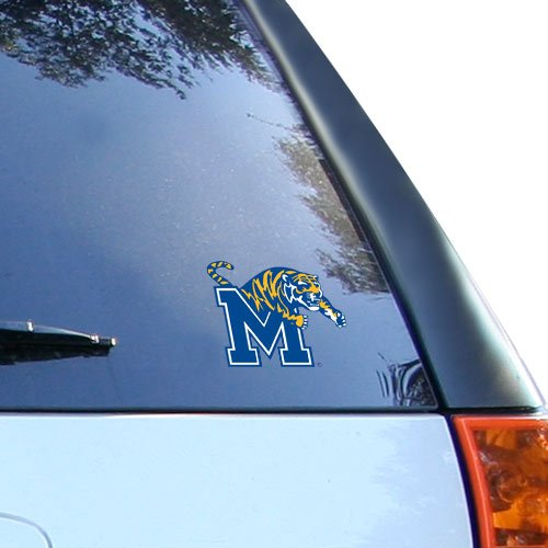 NCAA Memphis Tigers Small Static Decal (Memphis Gear Fan Tigers)