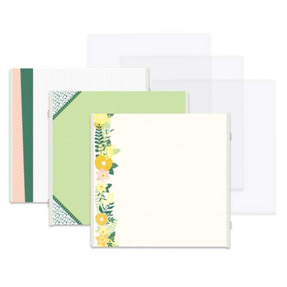 12x12 Simply Sunshine Butterfly Fast2Fab 16 Pages Double Sided Decorated Refill Pages by Creative Memories