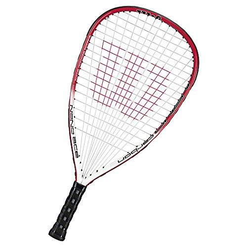 Wilson Nano Carbon Ace Racquetball Racquet, SS 3 5/8