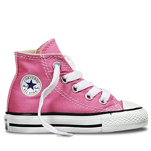 Converse Chuck Taylor All Star High Top Infant Shoes Pink 7j234 (5 M US)]()