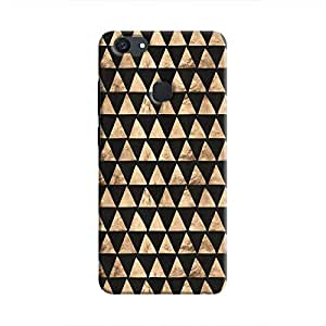 Cover It Up - Brown Black Triangle Tile V7 Plus Hard Case
