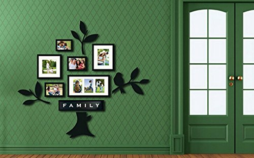 Photo Frame Family Tree Decal Wall Decals Wall Decor: LUOYIMAN Photo Wall Collage Frame Family Tree Wall