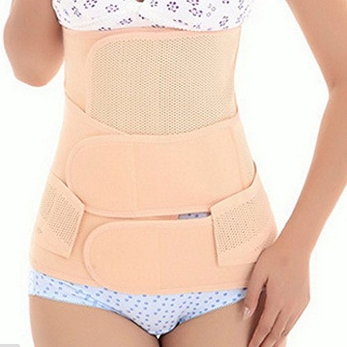 Elástico transpirable cuerpo cinturón EQMUMBABY diseño con texto - barriguera después de conjunto de puntas para destornillador: 2-in-1 efecto de descanso cinturón abdominal + de alta Body slim Hüftgu