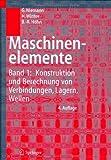 Maschinenelemente 1, G. Niemann and H. Winter, 3540251251