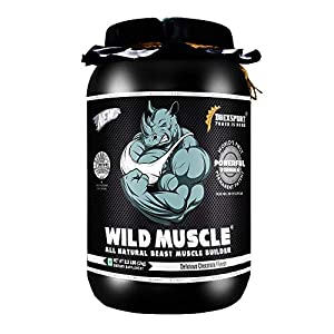 DREXSPORT – Wild Muscle – All Natural Muscle Builder, Whey Protein Powder – Blend of Isolate and Concentrate with…