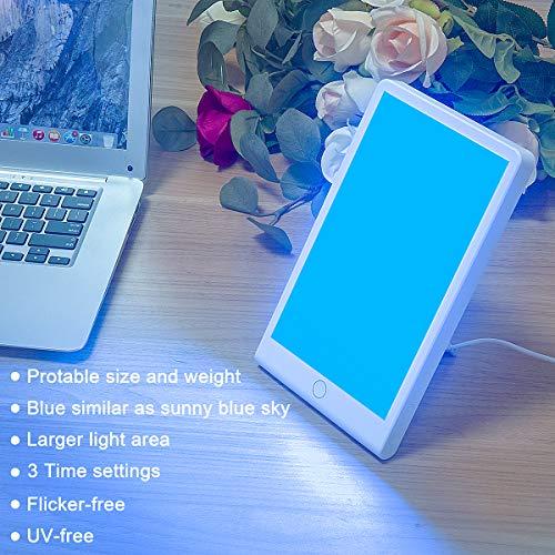 SMY Blue Light Adjustable LED Sad Light Therapy