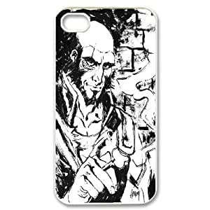 Bloomingbluerose Jet Black of Cowboy Bebop Case for IPhone 4/4s, with White
