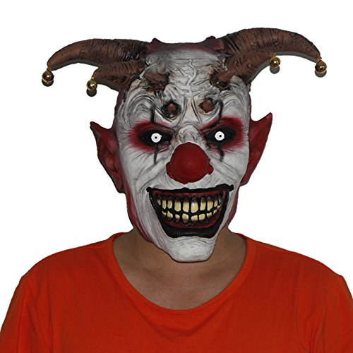 Creepy Clown Masks (Jingle Jangle Clown Mask)