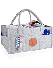 KeaBabies Baby Diaper Caddy Organizer - Large Baby Organizers And Storage For Nursery - Portable Diaper Basket For Changing Station - Fits Changing Table - Baby Registry Gift