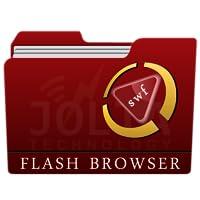 SWF (Flash) Player + File Browser-Free