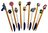 Bubble Guppies Pen Decoration Caps 6 Pcs Set #1