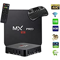 BOMIX MXQ PRO 2017 Android 6.0 OS TV Box, Amlogic S905X [1G/8G] Quad Core 4K Support Wi-Fi HDMI DLNA