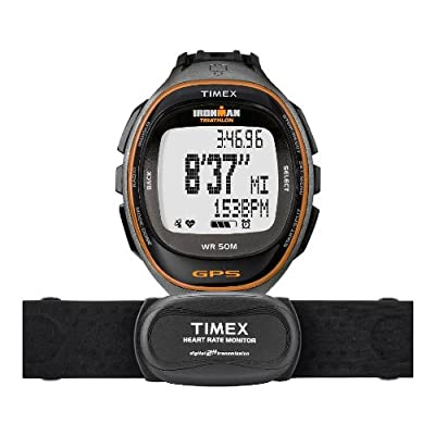 Timex Ironman Run Trainer S And D With Heart Rate Monitor from Timex