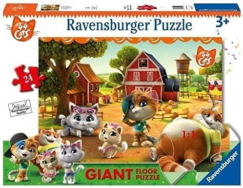 Ravensburger 03015 - Lote de 24 Puzzles de 44 Gatos: Amazon.es ...