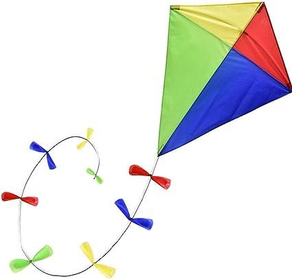 Amazon.com: Brookite 30044 Classic Bow Tail Kite, Multi: Toys & Games