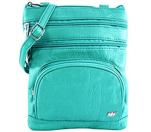 - Purse King Duchess Turquoise Cross Body Bag