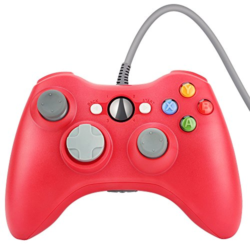 Wired Gaming Gamepad Controller Zoewal FA04 USB Gamepad for Xbox 360 Game and PC-Red (Third-party manufacturing) Review