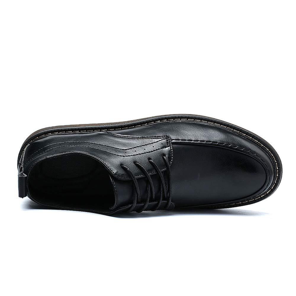 Fang schuhe, 2018 Herren superfeine passende britische Vintage Gürtel Business (Farbe Oxford Freizeitmode Formale Schuhe (Farbe Business : Braun, Größe : 42 EU) Schwarz e96dae