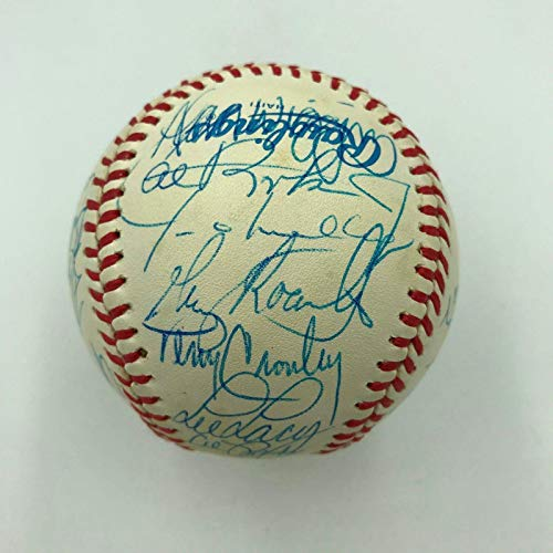 1985 Baltimore Orioles Team Signed American League Baseball With Cal Ripken Jr. - Autographed Baseballs