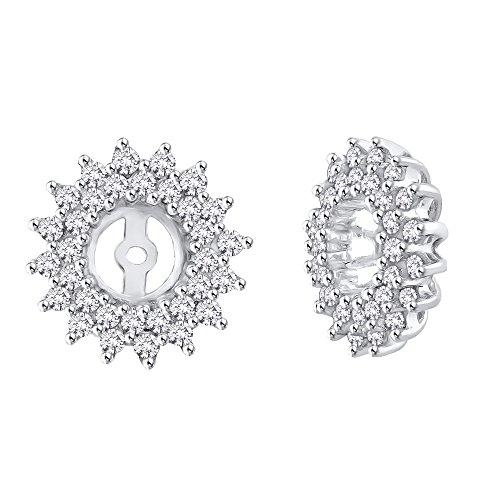 Diamond Earring Jackets in 14K