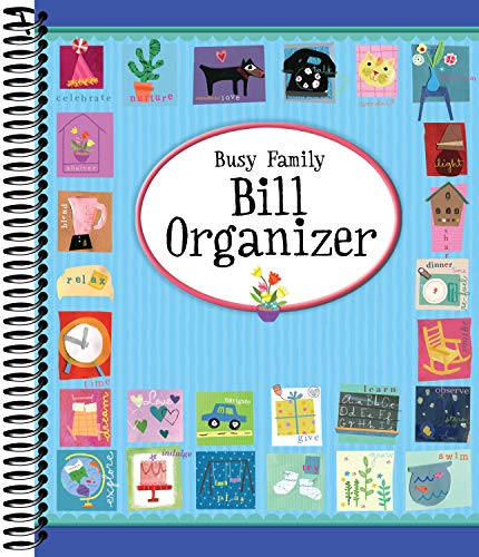 Busy Family Bill Organizer ()