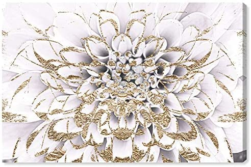 The Oliver Gal Artist Co. Floral and Botanical Wall Art Canvas Prints 'Floralia Blanc' Home D cor