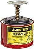 Justrite Steel Plunger Safety Can