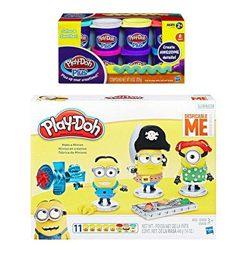 Play Doh Despicable Me Make a Minion Play