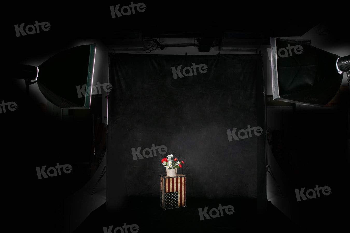 1.5x2.2m Kate Astratto Sfondo Retro Solido Colore Giallo Fotografia Sfondo Foto per Studio Neonato Ripresa 5x7ft